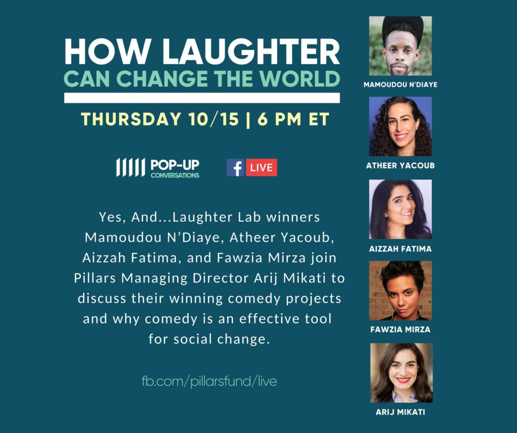 Pillars Pop-Up: How Laughter Can Change The World